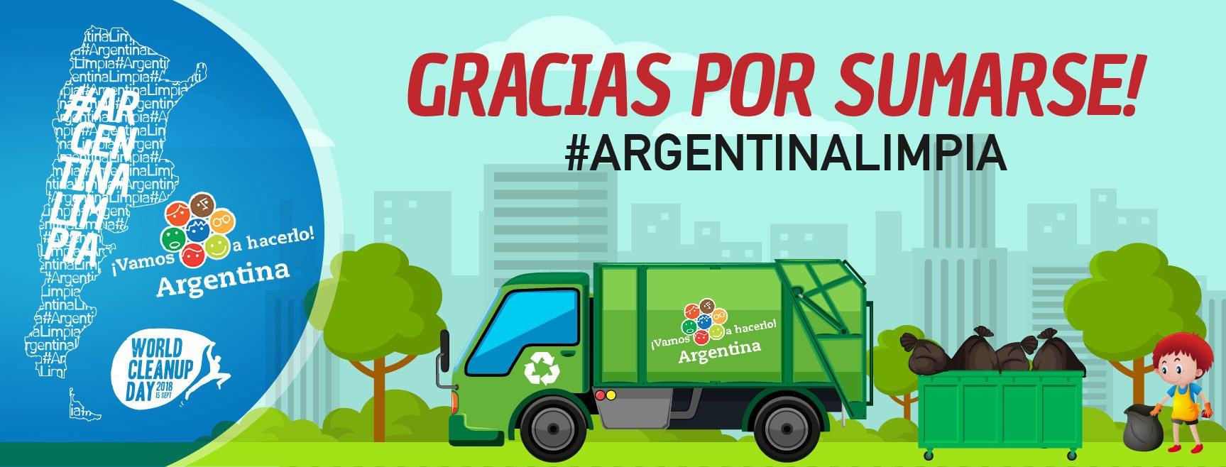 Más de 100 mil kilos de basura se retiraron en la campaña Argentina Limpia