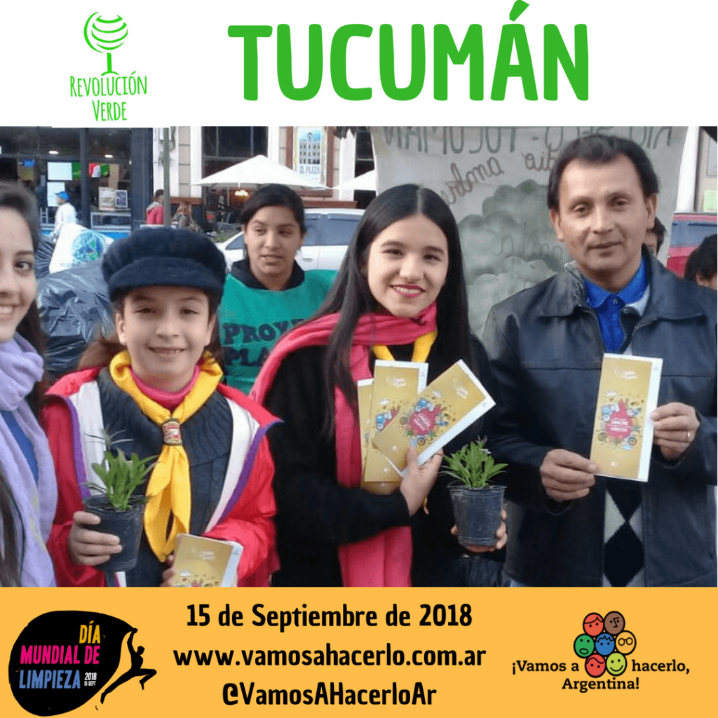 Tucumán se prepara para el World Cleanup Day